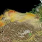 HRRR Smoke Looking West
